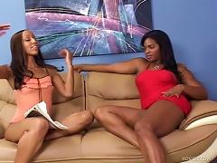 Strapon Makes Black Lesbian Porn Hotter