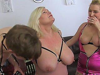 Mature Tgirl Fucks Granny