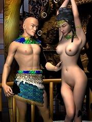 XXX BDSM 3D Comics