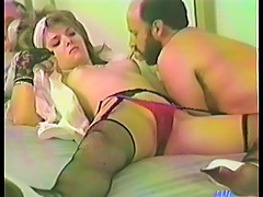 He Slams That Hairy Pussy Then Cums All Over Her Thick Carpet