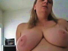 Horny Bbw Wife Riding Her Hubby