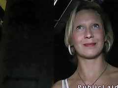 Blonde Woman Fucked Next To The Road Porn Videos