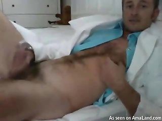 Sexy Hunk Doctor Masturbates In An Amateur Video