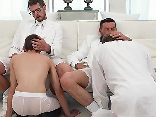 Gay Boys Swimming Bulges Elders Garrett And Xanders Walked Through The Temple Together