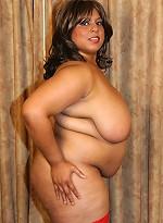 free bbw pics Fat BBW babe show off her...