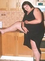 free bbw pics Lustful teenage fatty gets...
