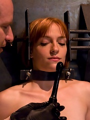 Anal Audition Hot Firey Redhead Doused With A Gallon Enema!