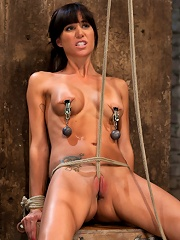 This Is Old School Bondage And Suffering At Its Best. The Backbreaking Crotch Rope From Hell.