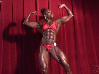 Ripped Ebony Goddess Roxanne Edwards