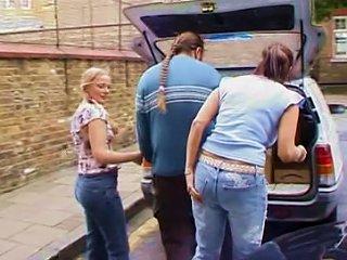 British Milf Angie George In A Lesbian Scene
