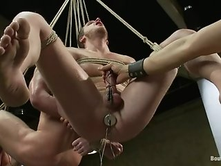 Two Gays Get Tormented And Banged By Two Horny Dominators