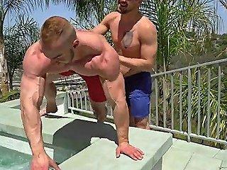 Big Dick Bodybuilder Anal Sex With Cumshot Film Segment 1