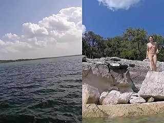 Emma Choice Public Nude Lake Odd Insertion