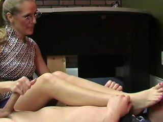 Foot Worship Handjob Free Foot Fetish Hd Porn Video 35