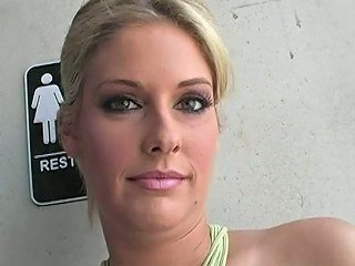 Faith Deluca In An Underground Punk Gloryhole Video