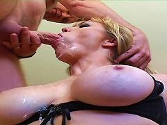 free cum video Tattooed Babe With Big Tits...