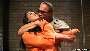 A Prison Guard Fucks A Very Hot Inmate In Her Tight Ass