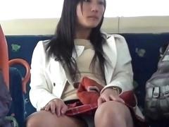 Asian Babe Shows Panties Drtuber