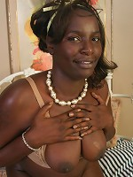 Cherrie is dark and ready to get her pussy popped