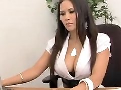 Big Breasted Asian Gets Her Papers Filled Nuvid