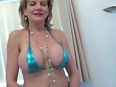 Milf Lady Sonia Sucks Cock Big Tits Nipples Free Porn Fe