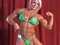 Sexy British Muscle Goddess Naked