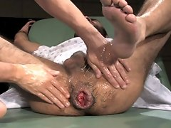 Boyhous goes to the doctor's office to have his asshole checked out. Dr. Kain obliges by doing a full examination. He lubes up his hand and proce