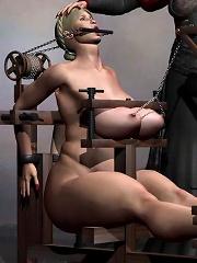 Adult 3D BDSM Comix