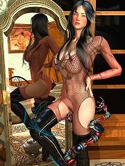 Virgin Girl with incredible body