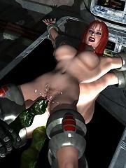 Nasty 3D BDSM Comics