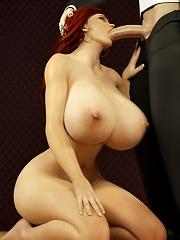 Seductive 3D Teen