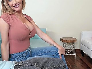 Watching A Movie With My Big Tits Stepmom Turned Into A Fuck