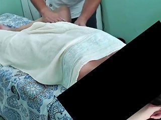 Desirable Mommy Milf Sexually Attractive Massage Filmed By Hubby Spycam