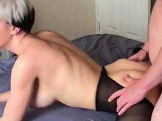 Lesbian Takes First Real Cock Samantha Flair
