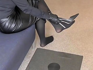 Great Leather Outfit Homemade Hd Porn Video B5 Xhamster