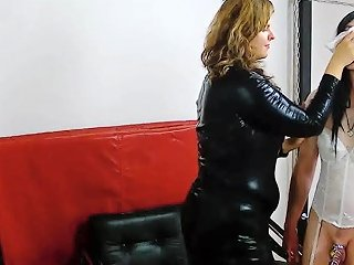 Mistress Lucrecia And Feminization Of Her Slave Hd Porn C1