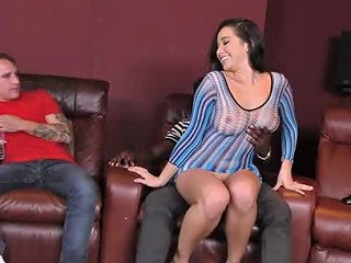 Karlee Grey Threatening Fearsome Interracial Cuckolds Fearsome