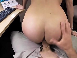 Big Tits Body Paint XXX College Student Banged In My Pawn Shop