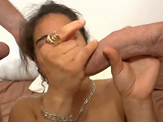 Young French Arab 1st Anal Double P N Facial For Her