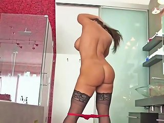 Brunette Milf With Big Fake Tits Analised And Foot Creamed Upornia Com