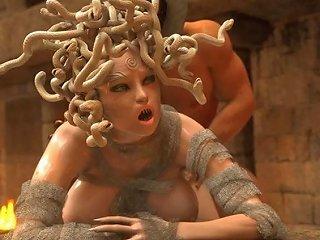 Medusa Comic Porn