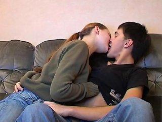 Cute Teenage Babe And Horny Guy Go Wild On Sofa Sunporno Uncensored