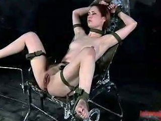Horny Bitch Gets Her Cunt Stuffed With A Vaginal Speculum In Bdsm Clip