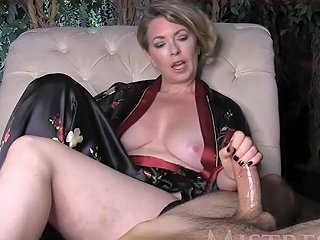 Mistress T Slow Handjob