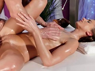 Massage Rooms Fitness Beauty With Tight Body Has Intense Orgasm Txxx Com