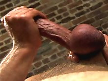 Robert Black and Bryce Pierce are perhaps one of the classic Stallion pairings - here a hot fuck scene is peppered with a little bondage and bonused w