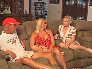 Husband And Wife Use Their Slutty Baby Sitter Free Porn 99