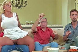 Voluptuous Mom Gets Hard Fucked Until Exhaustion