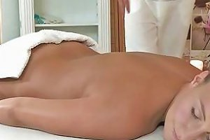 Perfect Ass Babe Gets Oiled Massage And Fuck