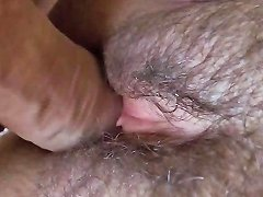 Hairy And Seductive Pussy With Soft Lips Drenched With